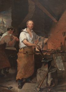 Pat Lyon at the Forge by John Neagle (1829)